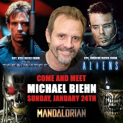 [Pre-Order] Exclusive Autograph VIP Ticket with Michael Biehn Sun, Jan 24th