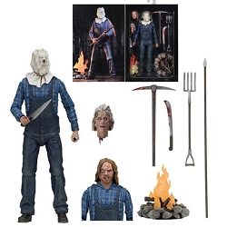 Friday The 13th Part 2 Jason Voorhees NECA Action Figure 96N020720 Signed by Warrington Gillette
