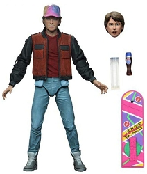 NECA Back to the Future Part II: Ultimate Marty McFly 35th Anniversary Collection Action Figure