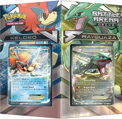 Pokemon TCG: Rayquaza vs Keldeo Battle Arena Deck