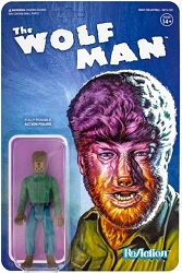 Super7 ReAction: Wolf Man Action Figure