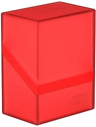 Ultimate Guard: Boulder 60+ Deck Case - Ruby