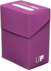 Ultra Pro Deck Box - Solid Plum