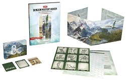 D&D 5th Edition: Dungeon Master's Screen Wilderness Kit