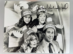 National Lampoon's Vacation Photo (B) 8x10 Signed by Anthony Michael Hall