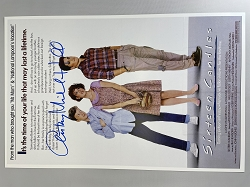 Sixteen Candles Poster 11x17 Signed by Anthony Michael Hall