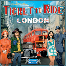 Ticket To Ride: London - Alan R. Moon