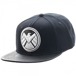 Marvel: Agents of Shield Black Snapback Cap