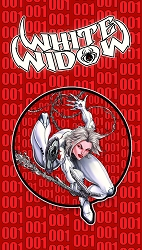 White Widow Spider-Man 300 Homage Pin [2019 NYCC Exclusive]