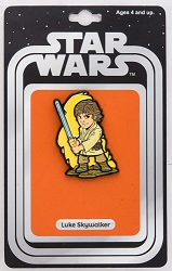 Star Wars: Luke Skywalker Lapel Pin w/ Vintage Card Back (Our NYCC Exclusive)