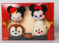 Disney: Mickey's Theatre Tsum Tsum Plush Set of 4 (SDCC 2016 Exclusive)