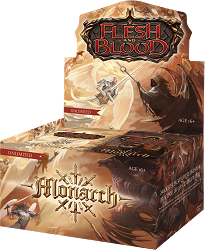 [Pre-Order] Flesh and Blood TCG: Monarch Booster (Unlimited Edition)