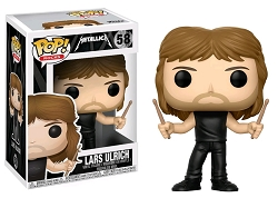POP! Rocks: Metallica - Lars Ulrich Vinyl Figure #58