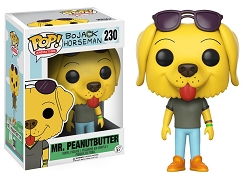 POP! Animation: BoJack Horseman - Mr. Peanutbutter Vinyl Figure #230