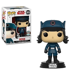 POP! Star Wars: The Last Jedi - Rose in Disguise Vinyl Bobblehead Figure #205 (Funko Specialty Series)