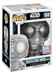 POP! Star Wars: Rogue One - Death Star Droid [White] Vinyl Bobblehead Figure #188 (NYCC 2017 Exclusive)*