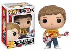 POP! Movies: Scott Pilgrim vs. The World - Scott Pilgrim [Plumtree Shirt] Vinyl Figure #336 (Toys R Us SDCC 2017 Exclusive)*