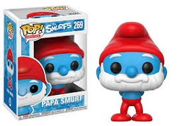 POP! Animation: The Smurfs - Papa Smurf Vinyl Figure #269