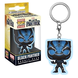 POP! Keychain: Black Panther - Black Panther (Blue) Keychain