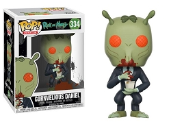 POP! Animation: Rick & Morty - Cornvelious Daniel Vinyl Figure #334