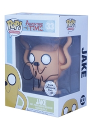 POP! Signature Series: Adventure Time - Jake Vinyl Figure #33 [Signed by John DiMaggio]