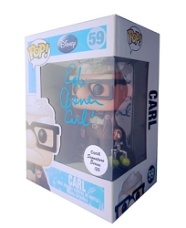 POP! Signature Series: Up - Carl Vinyl Figure #59 [Signed by Ed Asner]