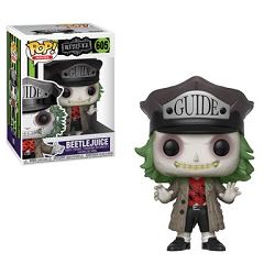 POP! Movies: Beetlejuice - Beetlejuice /w Hat Vinyl Figure #605