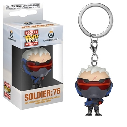 POP! Keychain: Overwatch - Soldier:76 Keychain