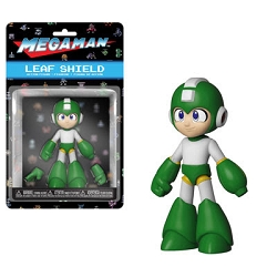 Funko Action Figures: Mega Man - Mega Man (Leaf Shield) Action Figure
