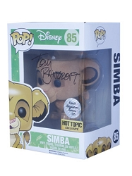 POP! Signature Series: The Lion King - Simba Flocked Vinyl Figure #85 [Signed by Tom Bancroft]