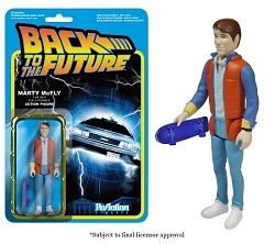 Funko ReAction: Back to the Future - Marty McFly Action Figure
