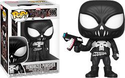 POP! Heroes: Marvel Venom - Venomized Punisher #595 Vinyl Figure