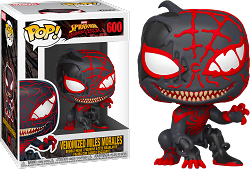 POP! Heroes: Marvel Spider-Man Maximum Venom - Venomized Miles Morales #600 Vinyl Figure