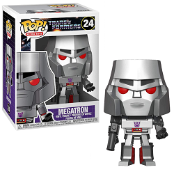 POP! Retro Toys: Transformers - Megatron Vinyl Figure #24