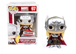POP! Marvel: Thor (Secret Wars) Vinyl Bobblehead Figure #97 (Marvel Collector Corps Exclusive)