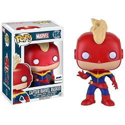 POP! Marvel: Captain Marvel (Masked) Vinyl Bobblehead Figure #154 (GTS Exclusive)