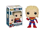 POP! Heroes Marvel: Captain Marvel (Unmasked) Vinyl Bobblehead Figure #148