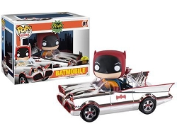 POP! Rides DC: '66 Chrome Batmobile Vinyl Figure #1 (Toy Tokyo SDCC 2016 Exclusive)