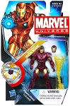 Marvel Universe: Series 3 - Tony Stark Iron Man 3.75 Action Figure #22