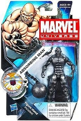Marvel Universe: Series 3 - Absorbing Man Action Figure #24 (Metallic Variant)