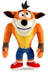 Phunny by Kidrobot: Crash Bandicoot - Crash Crazy Eyes Plush Figure
