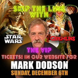 [Pre-Order] Exclusive Autograph VIP Ticket with Mark Dodson Dec 6th