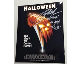 Halloween Picture (B) 8x10 Signed by Tony Moran