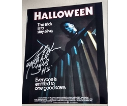 Halloween Picture (C) 8x10 Signed by Tony Moran