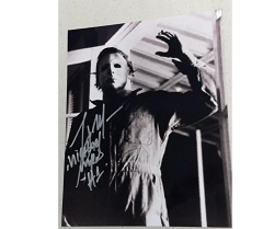 Halloween Picture (D) 8x10 Signed by Tony Moran