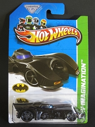 Mattel Hot Wheels: HW Imagination - Batmobile (Tim Burton 2013) 1:55 Die Cast Model X1709