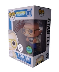 POP! Signature Series: Stan Lee 'Nuff Said Vinyl Figure #1 [Signed by Stan Lee]