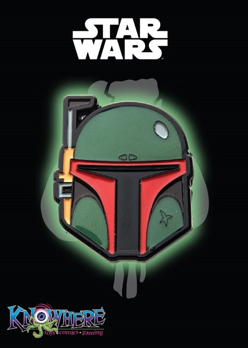Star Wars Mandalorian Exclusive Pin - Boba Fett Glow-in-the-Dark (Celebration 2019)
