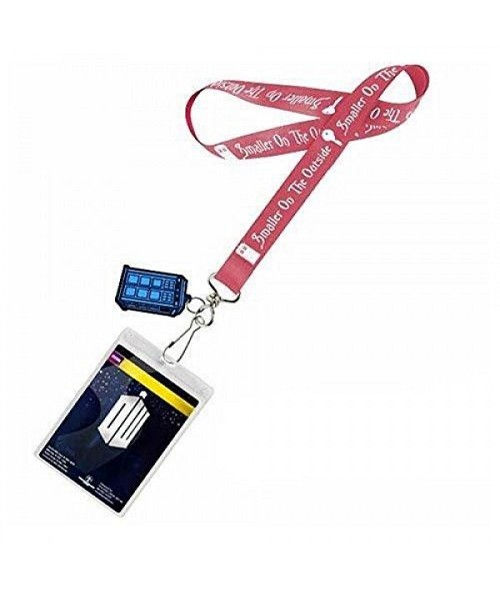 "Doctor Who: ""Smaller on the Outside"" Tardis Lanyard"