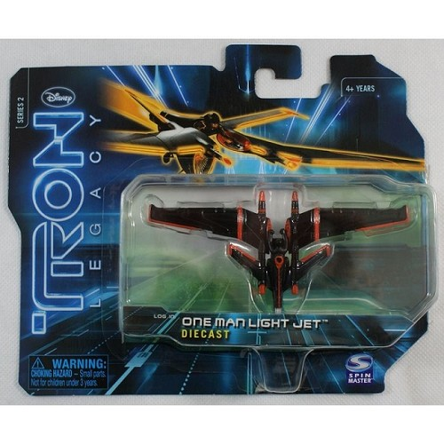 Disney: Tron Legacy - Series 2 One Man Light Jet Die Cast